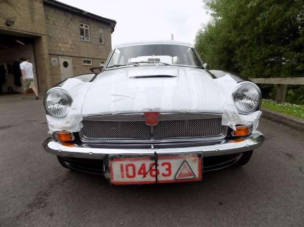 MG B GT Black
